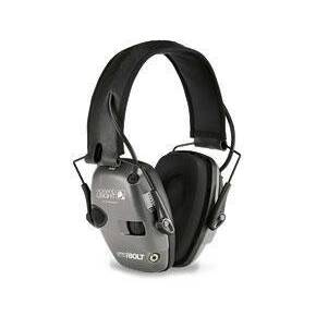 Honeywell Impact Sport Electronic Earmuff - Bolt Grey