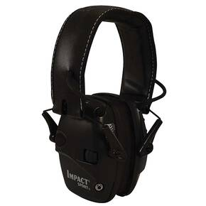 Honeywell Howard Leight Impact Sport Black Electronic Earmuff