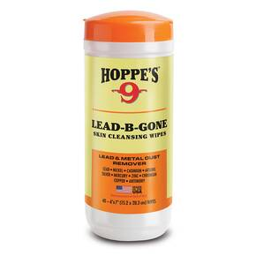 Hoppes Lead-B-Gone Skin Cleansing Wipes 40/ct