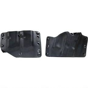 Phalanx Defense System Stealth Operator OWB Holster & Twin Mag Combo Compact, Black, Right Hand