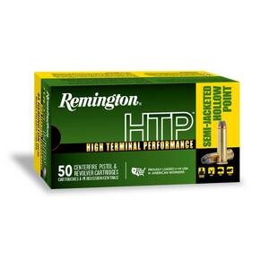 Remington HTP Handgun Ammunition .38 Spl(+P) 125 gr SJHP 890 fps 20/ct