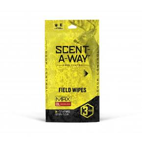 Hunters Specialties Scent-A-Way Max Field Wipes 24/pk