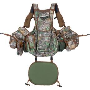 Hunters Specialties Undertaker Turkey Vest - Realtree Edge