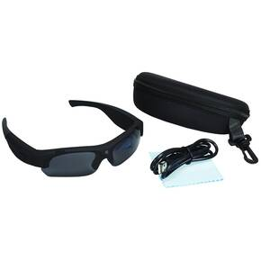i-Kam Xtreme VGA Video Eyewear - Flat Black