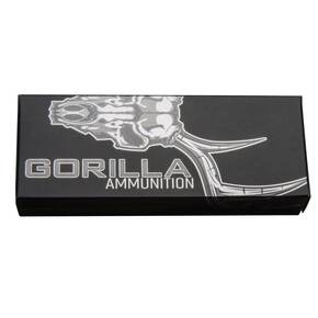 Gorilla Hunt Rifle Ammunition 6.5 Creedmoor 100 gr HP 2850 fps 20/ct