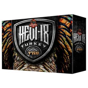 "HEVI-Shot TSS Turkey Shotshells 12 ga 3.5"" 2-1/4oz 1250fps #9 5/ct"