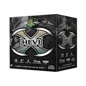 "HEVI-Shot HEVI-X Shotshells 12ga 3"" 1-1/4 oz 1450 fps #4 25/ct"