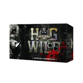 "HEVI-Shot Hog Wild Shotshells 12 ga 3-1/2"" 3 Ball 5/Box"