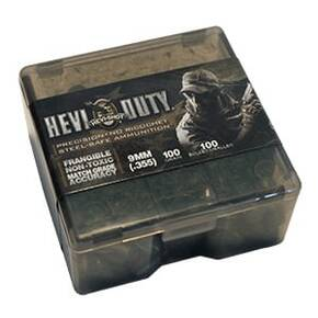 HEVI-Shot HEVI-Duty Handgun Bullets 9mm .355 cal 75 gr Frangible 100/Box