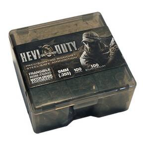 "HEVI-Shot HEVI-Duty Handgun Bullets .40 S&W .400"" 125 gr Frangible 100/Box"