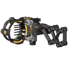 Trophy Ridge React H5 Crossbow Sight RH 5-Pin - Black