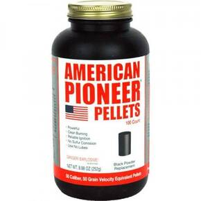 American Pioneer Pellets .50 Cal 50 grain For Muzzleloaders-100/ct