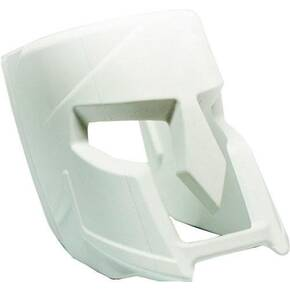 The Mako Group Fab Defense Decorative Spartan Helmet Insert for Mojo Magwell Grip - White