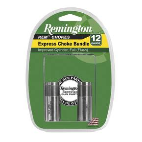 Remington Choke 12Ga Express Bundle - Improved Cylinder & Full
