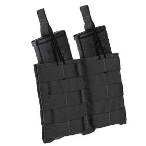 TacShield Double Speed Load Rifle Molle Pouch-Black