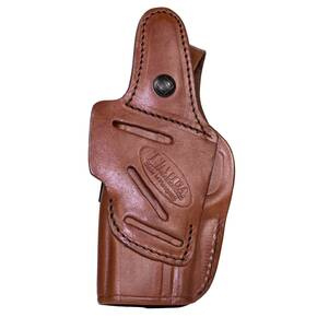 Tagua 4in1 Inside the Pants Holster with Snap for Glock 17 22 31 Brown Right Hand