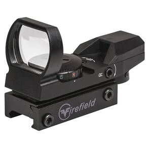 Firefield Multi Reflex Sight - Multi Reticles Red & Green
