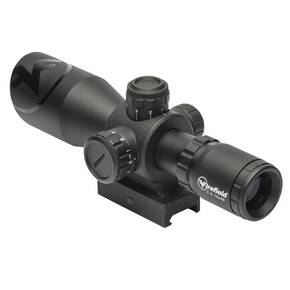 Firefield Barrage Rifle Scope - 2.5-10x40mm Illuminated Mil-Dot Reticle Black Matte