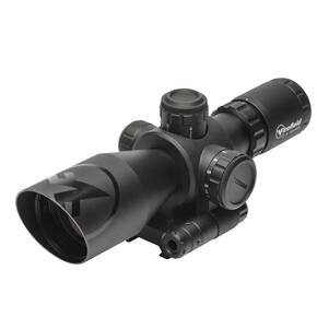 Firefield Barrage Rifle Scope - 2.5-10x40mm Red Laser Mil Dot Reticle Black Matte