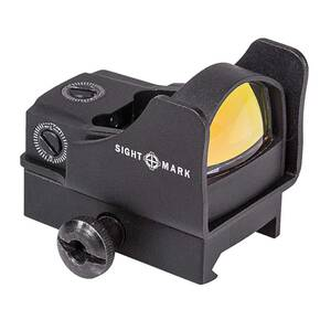 Sightmark Mini Shot Pro Spec w/Riser Mount - 5 MOA Dot Green
