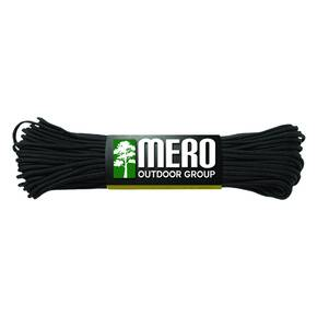 Mero 550 Paracord - 100' 550 lb Black