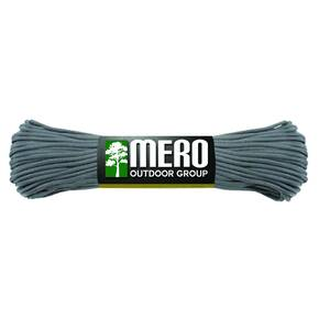 Mero 550 Paracord - 100' 550 lb Gray Charcoal