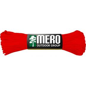 Mero 550 Paracord - 100' 550 lb Red Imperial