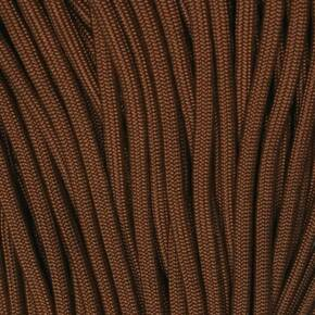 Mero 550 Paracord - 100' 550 lb Brown Chocolate