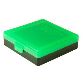 Berry's Ammo Box #001 - 380/9mm Zombie Green & Black - 100 rds