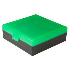 Berry's Ammo Box #007 - 44 Spl/Mag Zombie Green & Black, 100 rds