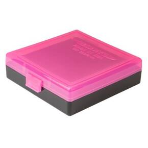 Berry's Ammo Box #001 - 380/9mm Standout Pink & Black, 100 rds