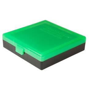Berry's Ammo Box #008 - (.40/45 ACP/10mm) Zombie Green & Black -100 rds