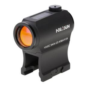 Holosun Micro Red Dot Sight HS403-C Classic - Dot/Solar Panel/Shake Awake