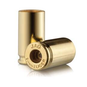 Jagemann Unprimed Brass Handgun Cartridge Cases 9mm 500/ct Bag