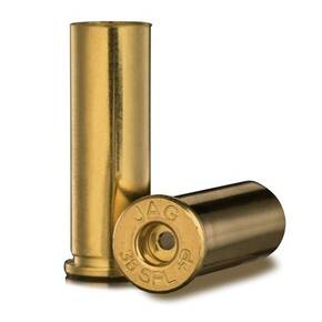 Jagemann Unprimed Brass Pistol Cartridges .38 SPL +P 100/bag