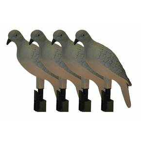 MOJO Clip On Dove Decoys 4/pk