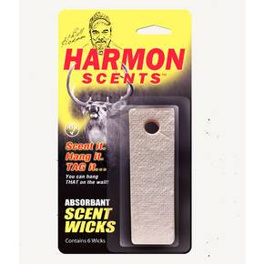 Harmon Scent Wicks 6/ct
