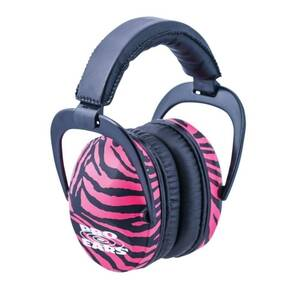 ProEars Ultra Sleek Passive Series - Pink Zebra