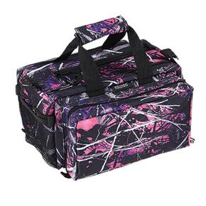 Bulldog Muddy Girl Range Bag with Strap - Pink Camo