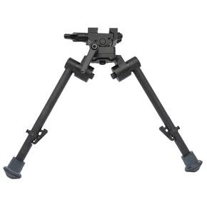 Sierra 7 Bipod 9 to 12 inch with Rubber Feet