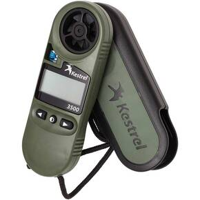 Kestrel 3500NV Weather Meter/Digital Psychrometer +NV Backlight - Olive Drab