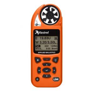 Kestrel 5700 Elite Weather Meter w/ Applied Ballistics & LiNK Blaze Orange