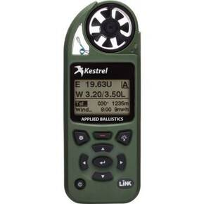Kestrel 5700 Elite Weather Meter with Applied Ballistics & LiNK - Olive Drab