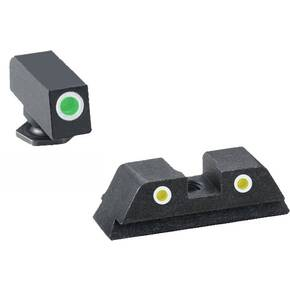 Ameriglo Classic Tritium NIght Sight Set 3-Dot for GLOCK 17,19, 22, 23, 24, 26, 27, 33, 34, 35, 37, 38, 39