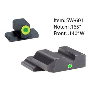 Ameriglo Tritium i-Dot Night Sight Set for Select S&W M&P Full/Compact