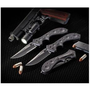 Timberline Wortac II Plain Edge Tactical Knife 9-4/5 in. Overall Length
