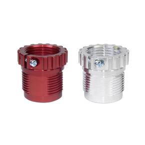 Lee Breech Spline Drive Breech Lock Bushing with Die Lock Ring Eliminator - 2/ct (1 red / 1 silver)
