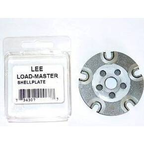 Lee Load-Master Shell Plate - #19L Lee #19L For 10mm Auto, 41 A&E and Similar