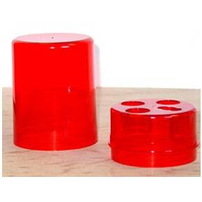 Lee Red 3-Die Round Storage Box