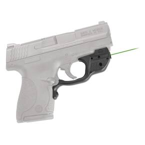 Crimson Trace Laserguard Sight with Green Laser for S&W M&P Shield